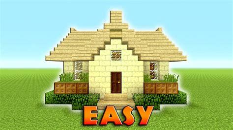 minecraft   build  suburban house tutorial  stone easy compact efficient