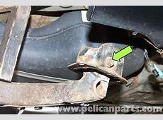 BMW E46 Rear Trailing Arm Bushing Replacement BMW 325i