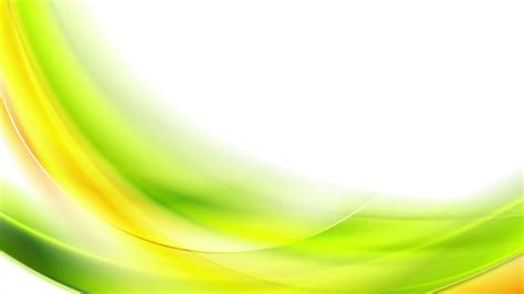 bright green orange blurred abstract waves  white