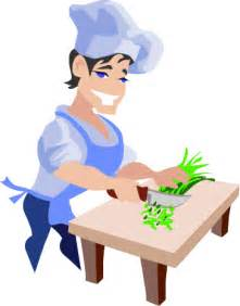 Chef Cooking Clip Art