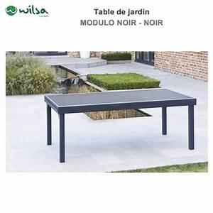 Table De Jardin 8 Places : table de jardin modulo 8 12 places noir602630 wilsa garden ~ Teatrodelosmanantiales.com Idées de Décoration