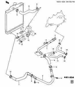 Engine Coolant Thermostat  U0026 Hose