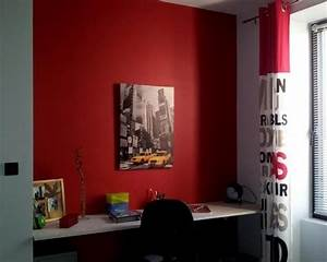 notre selection de jolies decorations chambre ado rouge With decoration chambre d ado