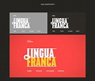 Lingua Franca. on Behance