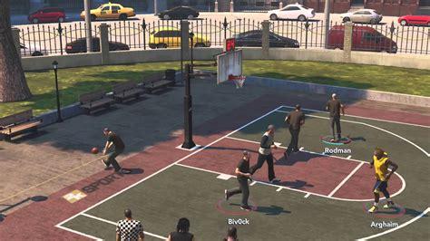 nba  xbox   park     street basketball