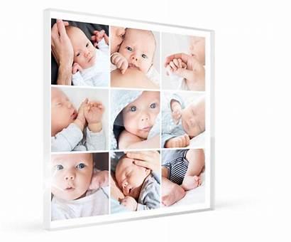 Collage Fotocollage Plexiglas Acrylglas Plexiglass Lieferzeiten Aufhaengungen