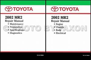 2000 Toyota Mr2 Spyder Repair Manual
