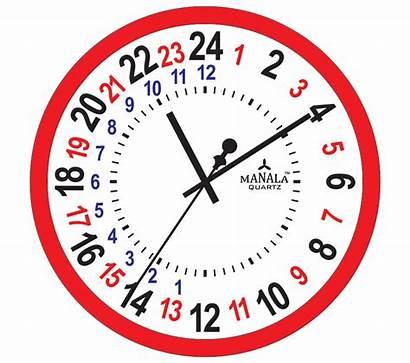 Clock Hour Military Clipart Clocks Hours Pm