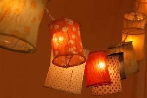 basteln mit licht 3 sommerliche dekoideen fur balkon garten With französischer balkon mit led sonnenschirm licht