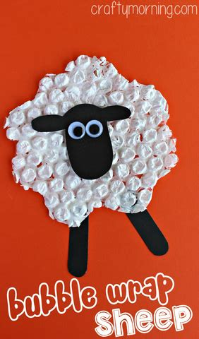 sheep crafts for preschool wrap sheep craft for crafty morning 276