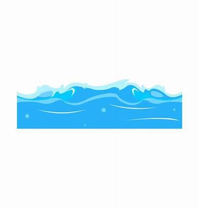 Sea Clipart Clip Ocean Water Cliparts Waves