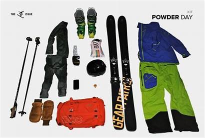 Powder Kit Gear Patrol Skiing Parker Buying