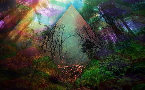 Hipster Backgrounds For Computer Trippy Wolf Wallpapers Wallpapersafari
