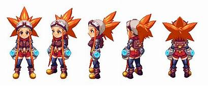 Action Rpg Sprite Cryamore Classic Games Anime