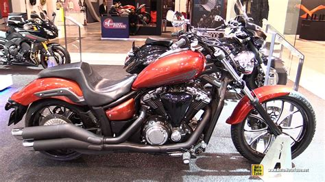 yamaha xvs 1300 2015 yamaha xvs 1300 custom walkaround 2014 eicma milan motorcycle exhibition