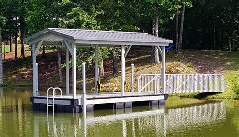 Boat Dock Swim Platform by Flotation Systems Inc Aluminum Boat Docks Gable