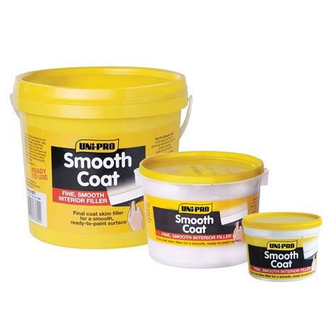 uni pro smooth coat interior filler skim coat unipro