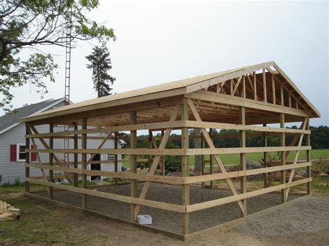 pole shed plans 24x30 pole barn design farm pole barn