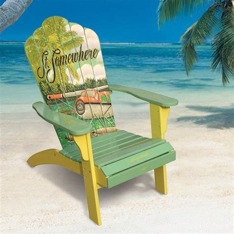 Margaritaville Seaplane Adirondack Chair by Painting New Adirondack Chair And Adding Artwork