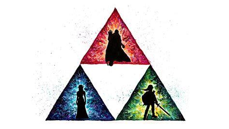 The Triforce The Legend Of Zelda Fan Art Speed