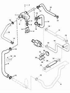 Standard Cooling System Bravo Engines For Mercruiser 5 7lx