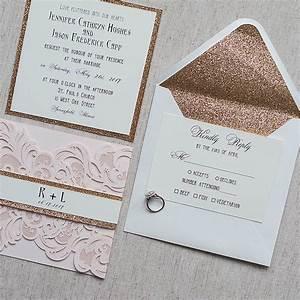 wedding invitations make your own wedding invitations With 3d rose wedding invitations