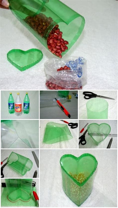 heart shaped plastic bottle container