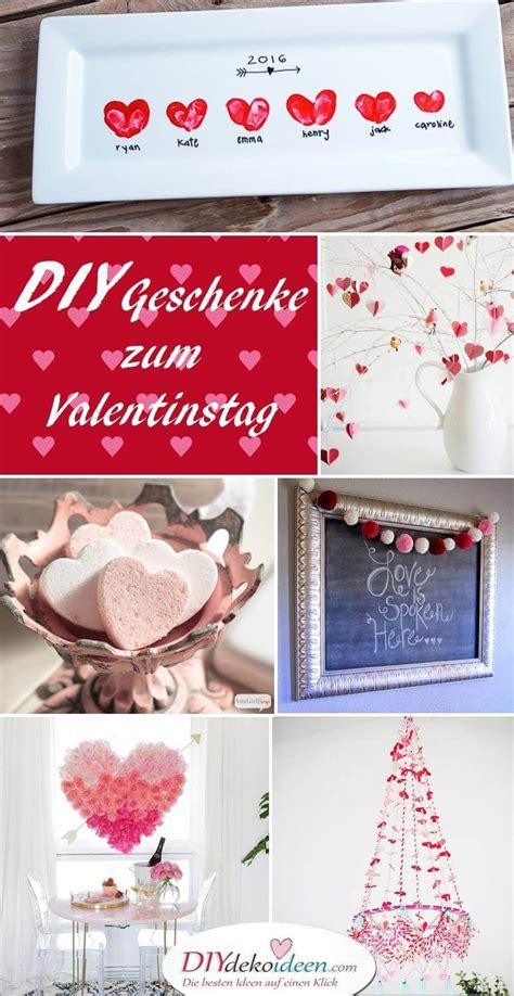 Valentinstag Geschenke Und Ideen Zum Valentinstag by S 252 223 E Und Einfache Diy Geschenke Selber Machen Zum