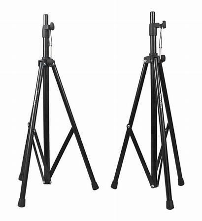 Mixer Rockville System Portable Stands Pa Speakers