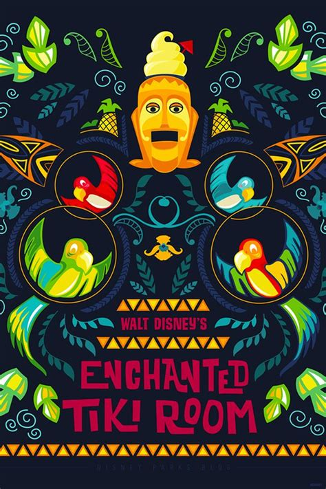 anniversary wallpaper walt disneys enchanted tiki