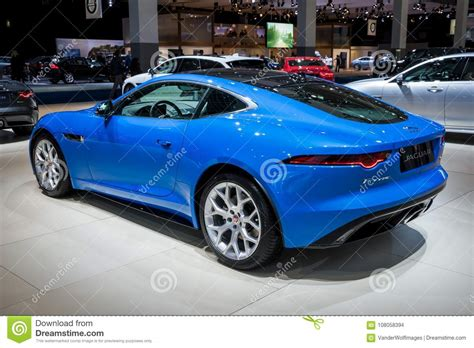 2018 Jaguar F-type Luxury Sports Car Editorial Stock Image
