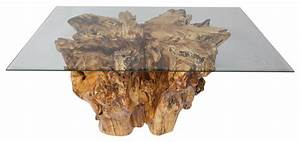 spalted sycamore tree stump coffee table rustic coffee With gold tree trunk coffee table