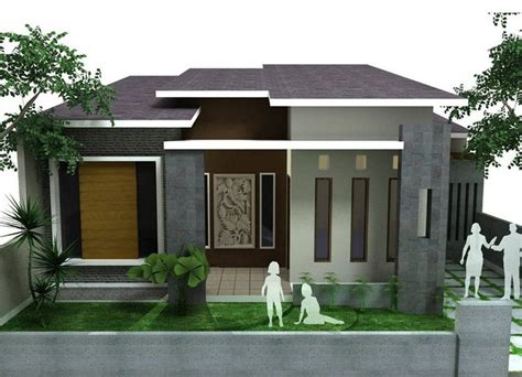 gambar tampak depan rumah minimalis lantai sebuah rumah