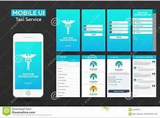 Mobile App Doctor Consultation Online Material Design UI