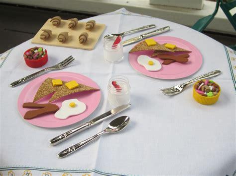 American Girl Doll Food DIY