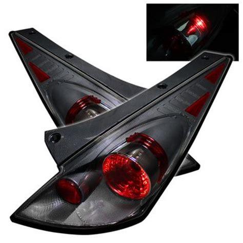 nissan 350z tail lights nissan 350z 2002 2005 carbon fiber altezza tail lights