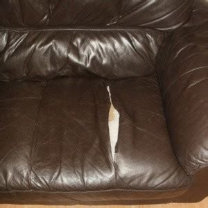 How To Repair Leather Sofa Tear by Repairing A Leather Seam Thriftyfun
