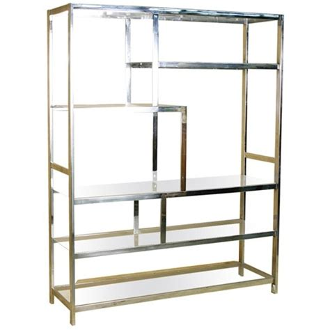 Chrome Etagere by 1000 Images About Chrome On Navy Walls Color