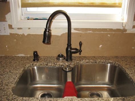 bronze kitchen faucet with stainless sink bronze faucet stainless steel sink home furniture 9317