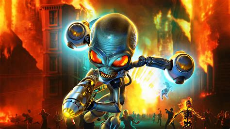 Destroy All Humans Review - Two Arms, Two Legs, And An ...