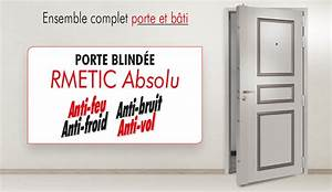 Porte blindee rmetic absolu anti effraction anti froid for Porte de garage enroulable jumelé avec reelax tordjman