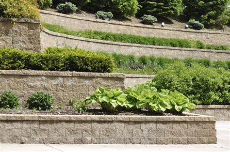 terraced retaining wall 27 backyard retaining wall ideas and terraced gardens