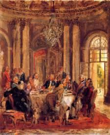 Der Runde Tisch : der runde tisch von friedrich ii von sanssouci skizze malen von adolph menzel 1815 1905 poland ~ Yasmunasinghe.com Haus und Dekorationen