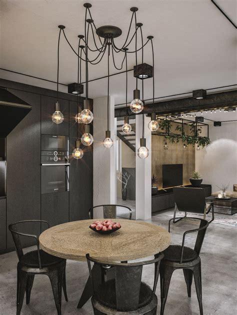 Modern Loft in Kaunas: Industrial Style Wrapped in