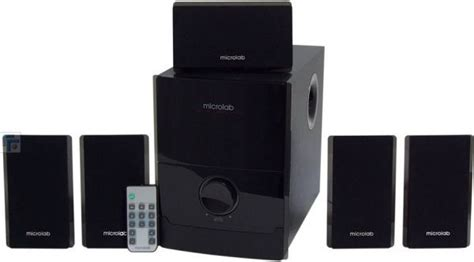 microlab 5 1 channel speaker with remote system and