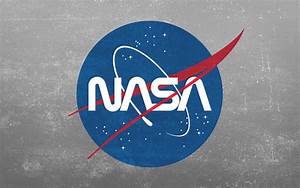 Grunge NASA Worm Logo Wallpaper [2880x1800] : wallpapers
