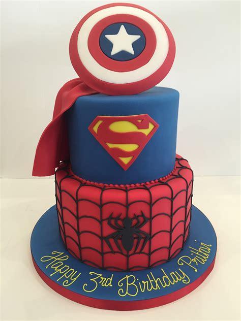 Superhero Birthday Cakes   Cakes By Robin