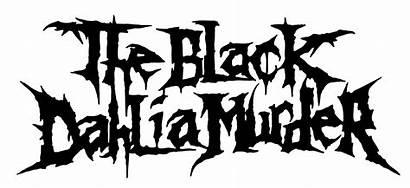 Dahlia Murder Band Metal Album Logos Font