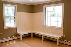 Built-in kitchen bench seating Glastonbury CT