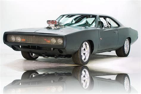 vin diesels  dodge charger rt fast  furious car